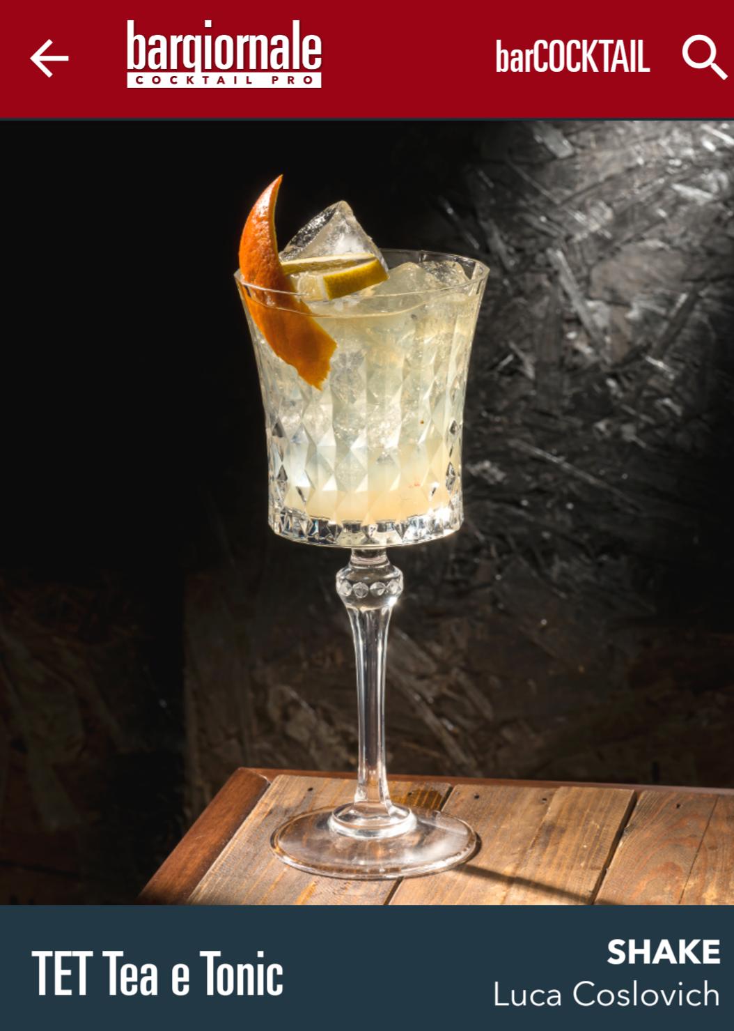 cocktail Luca Coslovich
